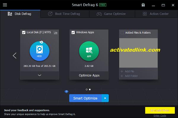 IObit Smart Defrag Pro 6.7.5.30 Crack With License Key 2021 Free