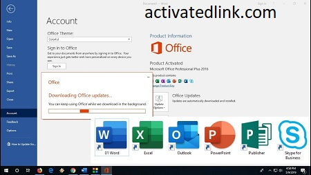 Microsoft Office 2016 Crack + Product Key 2021 Free [Latest]