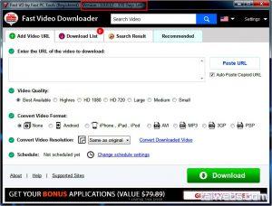 Fast Video Downloader 4.0.0.8 Crack With Registration Key Free [Latest]