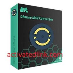 DRmare M4V Converter 4.1.1.21 Crack + Registration Code Download 2021