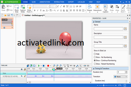 ActivePresenter 8.5.2 Crack With Activation Key 2022 Free