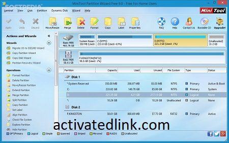 MiniTool Partition Wizard 12.5 Crack With Serial Key [Torrent]