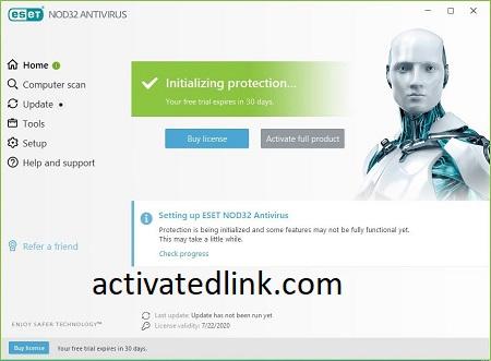 ESET NOD32 Antivirus 14.2.23.0 Crack With License Key [Latest]