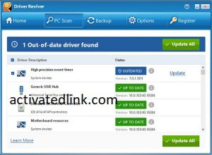 Driver Reviver 5.36.0.14 Crack + License Key Free Download 2021