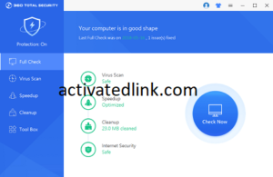 360 Total Security 10.8.0.1279 Crack + License Key Free Download [2021]