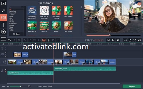 Movavi Video Editor 21.3.0 Crack With Activation Key Free