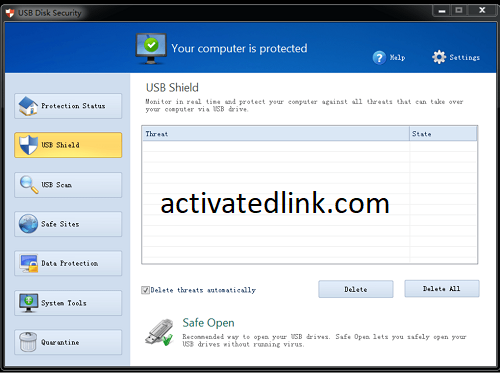 USB Disk Security 6.9 Crack With License Key Download 2021