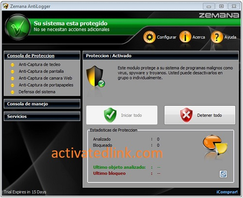 Zemana AntiLogger 2.74.204.664 Crack Plus License Key 2021