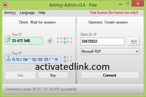 Ammyy Admin 3.10 Crack + License Key Free Download [2021]