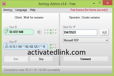 Ammyy Admin 3.10 Crack Plus License Key Free Download