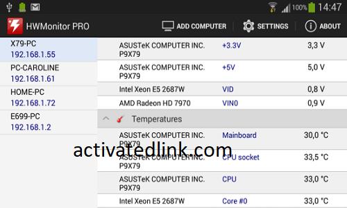 HWMonitor Pro 1.45.0 Crack + Serial Key Full Free Download [2021]