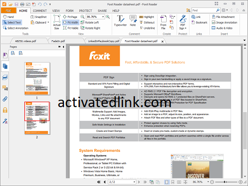 Foxit Reader 10.1.4.37651 Crack With Activation Key (2021)