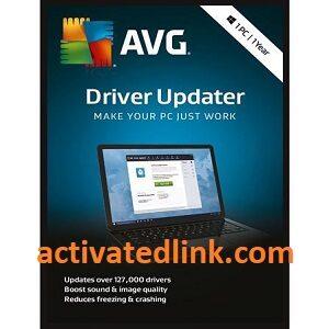 AVG Driver Updater 2.7 Crack + Serial Key Latest Version Download [2021]