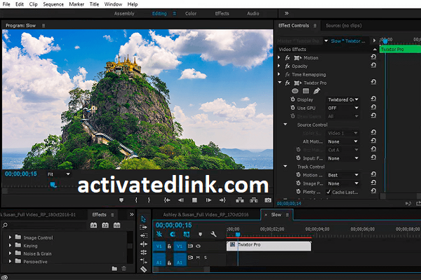 Twixtor Pro 7.5.1 Crack With Activation Key Free Download