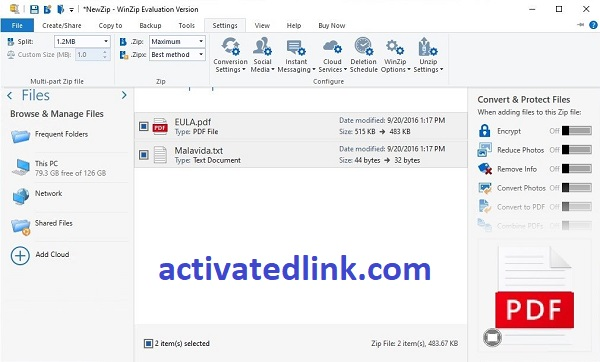 WinZip Pro 26.0 Crack With Activation Code Free Download